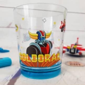 Goldorak - Verre en plastique buste