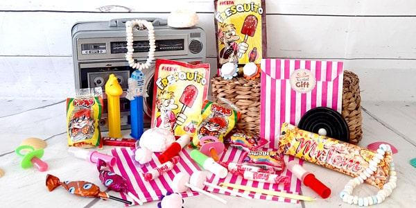 Nostalgiques des bonbons qui ont marqué votre enfance? Treets, graines de tournesol, fresquito-sucette à tremper, retrouvez les tous et laissez vos souvenirs remonter grâce à notre sélection des bonbons des années 70.