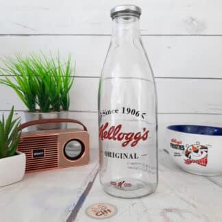 Bouteille en verre Kellogg's original