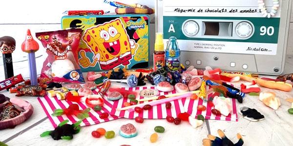 Les bonbons des années 90 sont de retour ! Kismache, bonbons Haribo ou les Pez que vous pensiez disparus sont en vente sur notre site. Venez acheter les vôtres et faites remonter vos souvenirs les plus gourmands.
