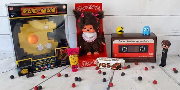 Bonbons, chocolats ou jeux rétro, les meilleures ventes de NostalGift sont ici ! Retrouvez dans cette catégorie nos produits les plus populaires selon leurs ventes et profitez de tous les produits que nos clients aiment.