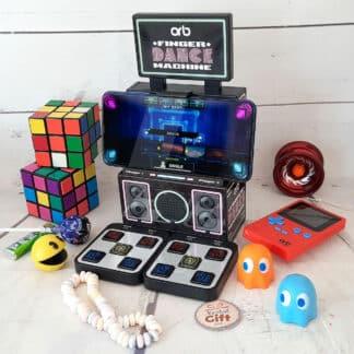 Console de jeu rétro - Machine de danse arcade pour doigts