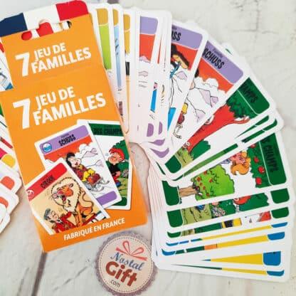 Jeu de 7 familles français - Marc et Julie