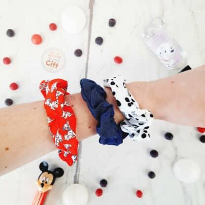 Disney - Chouchou Scrunchies pour cheveux x 3 - Les 101 Dalmatiens