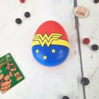 Brosse à cheveux ronde logo - Wonder Woman