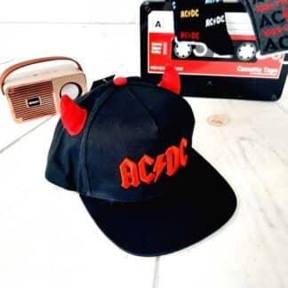 AC/DC - Casquette cornes