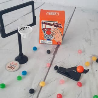 Mini jeu de basket ball pour doigts (finger basketball)