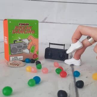Mini jeu de danse pour doigts (finger Break dancing)