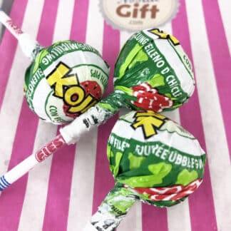 Kojak - Sucette bubble gum - goût pastèque x3