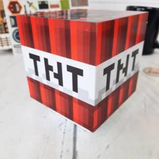 Minecraft - Lampe veilleuse sonore TNT