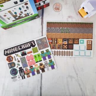 Minecraft - Set de 84 aimants