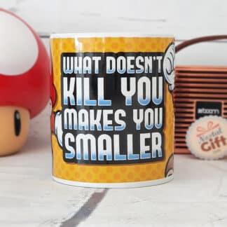 Mug - Super Mario II - What doesn't kill you makes you smaller