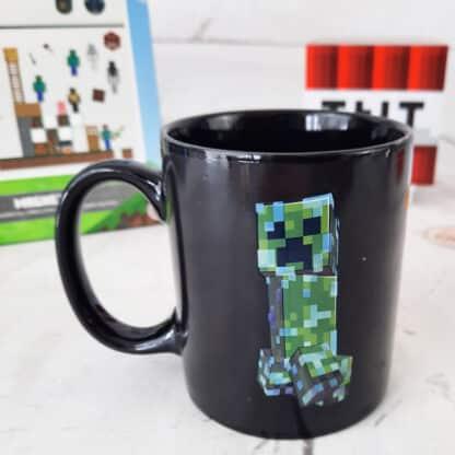 Minecraft - Mug thermoréactif Creeper- changeant de motifs