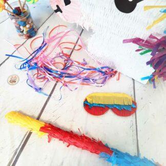 Piñata tête de Licorne - 20 jouets
