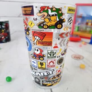 Mario - Grand verre Mario Kart