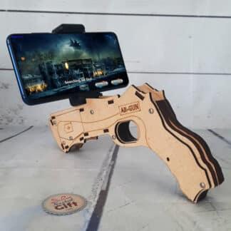 Jeu virtuel - Pistolet à réalité augmentée pour smartphone