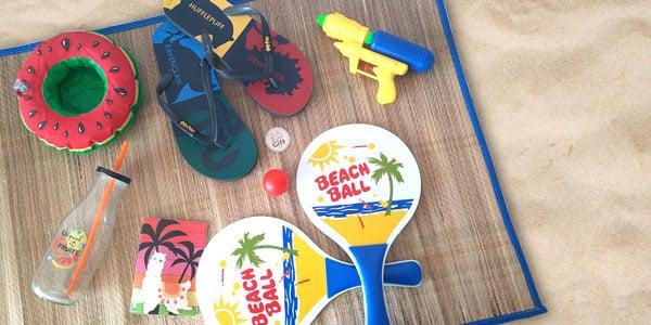 L'été approche et vous cherchez à vous équiper des accessoires indispensables pour l'été ? Sur NostalGift, vous trouverez ce qu'il vous faut. Accessoires de mode ou jeux d'extérieur pour occuper les enfants, tout y est.