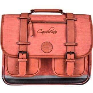 Cartable couleur rose rétro 38 cm - Cameleon - Totally brick - CP, CE1, CE2