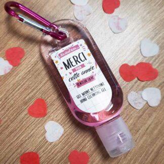 Gel main nettoyant pour les mains - Idée cadeau Maitresse, Nounou, Atsem