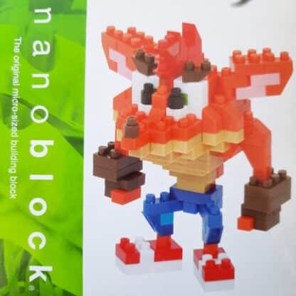 Nanoblock - Crash Bandicoot - Crash - Figurine mini à monter