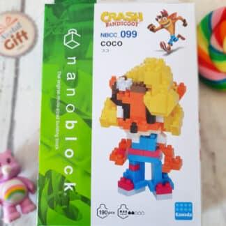 Nanoblock - Crash Bandicoot - Coco - Figurine mini à monter