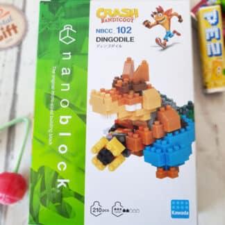 Nanoblock - Crash Bandicoot - Dingodile - Figurine mini à monter