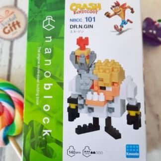 Nanoblock - Crash Bandicoot - DR. N. Gin - Figurine mini à monter