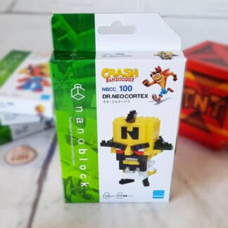 Nanoblock - Crash Bandicoot - DR. Neo Cortex - Figurine mini à monter