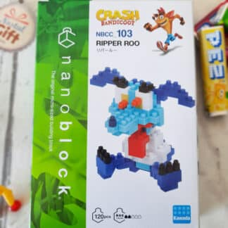 Nanoblock - Crash Bandicoot - Ripper Roo - Figurine mini à monter