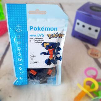 Nanoblock - Carchacrok - Pokemon - Figurine mini à monter