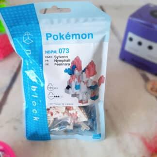 Nanoblock - Nymphali - Pokemon - Figurine mini à monter