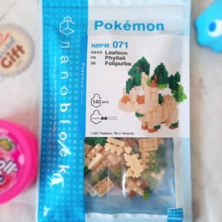 Nanoblock - Phyllali - Pokemon - Figurine mini à monter
