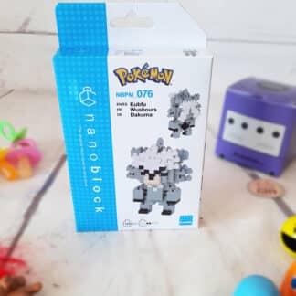 Nanoblock - Wushours - Pokemon - Figurine mini à monter