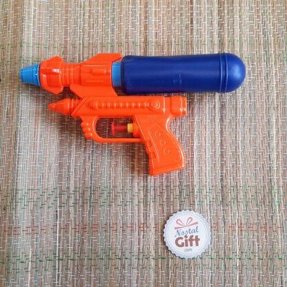 Pistolet à eau 19 cm avec réservoir