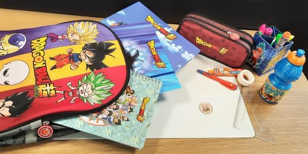 Tout l'univers Dragon Ball sous la forme de fournitures scolaires pour préparer une rentrée digne de ce nom !