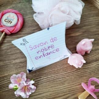 Savon de notre enfance - Savon cochon senteur rose x 2