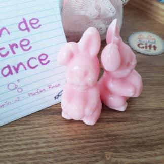 Savon de notre enfance - Savon lapin senteur rose x 2