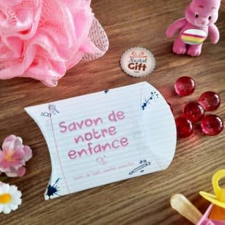 Savon de notre enfance - Perle de bain senteur passion x 12