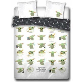 Star Wars - Parure / Housse de lit en coton 2 personnes the Mandalorian (240 x 220 cm)