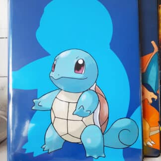 Pokémon - Portfolio A4 cartes Pokémon - Carapuce