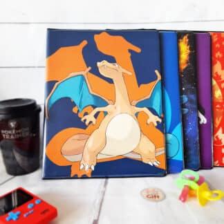 Pokémon - Portfolio A4 cartes Pokémon - Dracaufeu