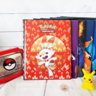 Pokémon - Portfolio A4  cartes Pokémon - Flambino