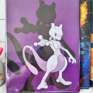 Pokémon - Portfolio A4 cartes Pokémon - Mewtwo