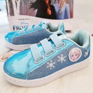 Chaussures bleues La reine des neiges - Disney