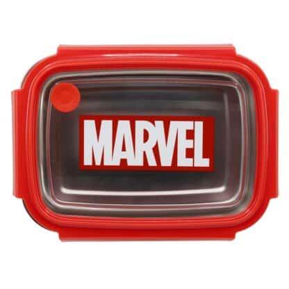 Marvel - boîte à goûter/déjeuner rouge
