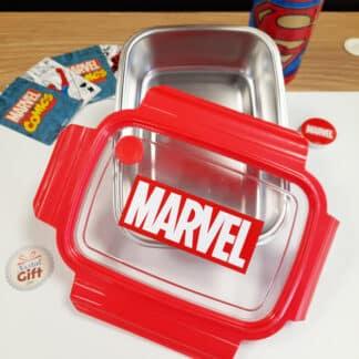 Marvel - boîte à goûter/déjeuner rouge en métal