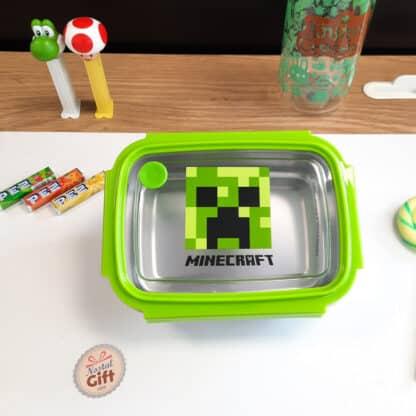 Minecraft - boîte à goûter/déjeuner