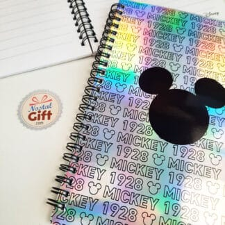 Disney - Carnet A5 holographique Mickey