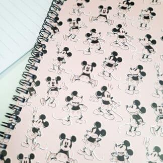 Disney - Carnet rose A5 Mickey