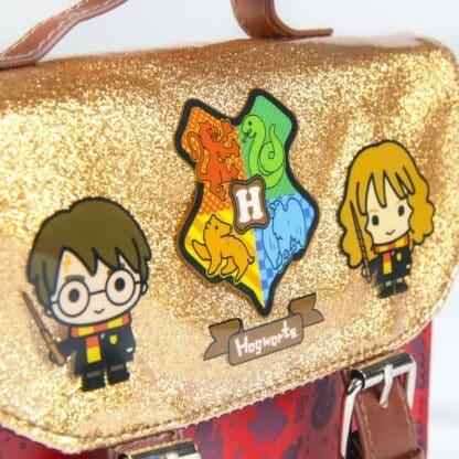 Harry Potter - Sac à Bandoulière rouge et doré (16,5 cm)